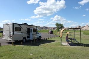 Campground Badlands
