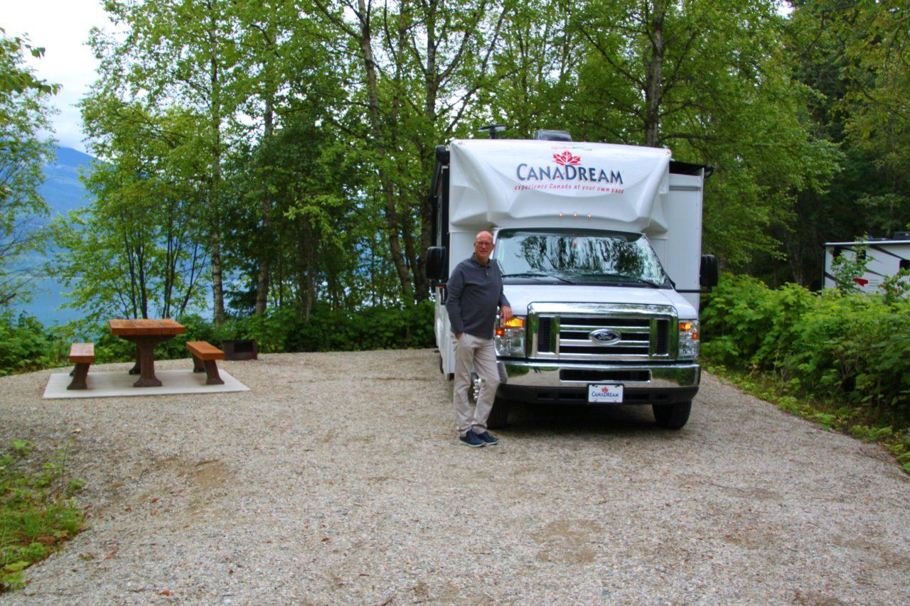 Blanket Creek campground..