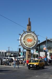 Fisherman's Wharf San Francisco sign