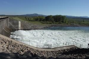 De Jackson lake dam