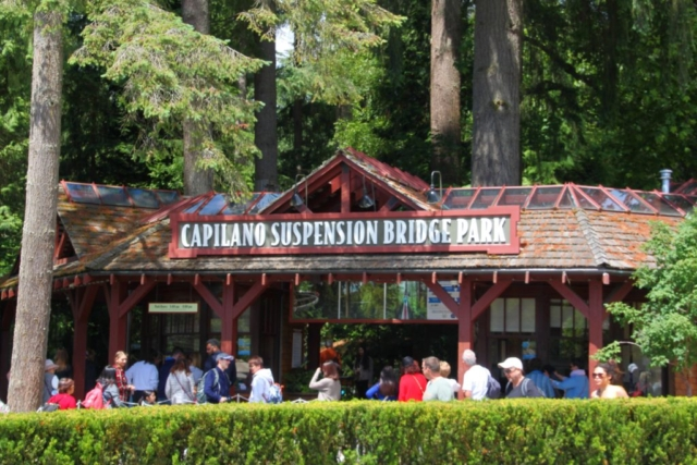 ingang Capilano Suspension Bridge